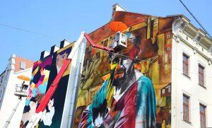 Das Wiener #Streetart-Festival @callelibre begeistert in den Straßen zahlreiche Schaulustige. @annnnamaria88 hat sich dort umgesehen und mit...