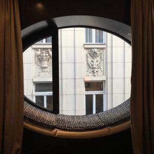 Urlaub in Wien // #window #oval #vienna #topazz Hotel Topazz Vienna