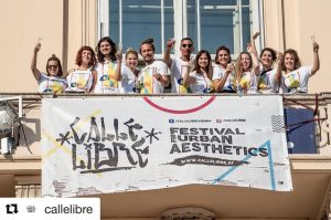 #Repost @callelibre ・・・ Broken finger,spilled paint and police patrols couldn't stop us- we did it again! ....