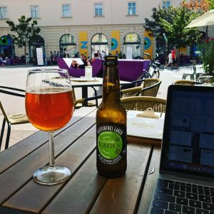 Take it easy on the weekend #travelblogger #vienna #digitalnomad #worklife #glutenfree #beerporn #saturdayvibes