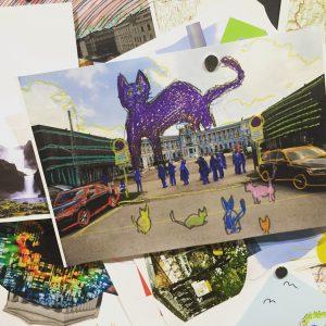 Utopische Ideen für die Stadt der Zukunft 💡 #spaceforkids #kidsspace #kunsthallewien #cat