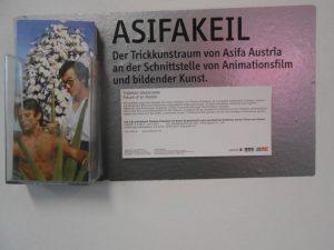 Sei der/die Erste, dem das gefällt. ASIFAKEIL; Flyer for Thomas Draschan's exhibition