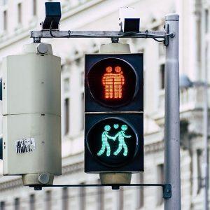 Vienna's traffic lights 💕 by @tomashphotography #viennanow