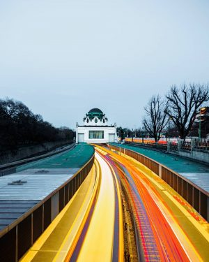 Back to the future w/ Otto Wagner ° ° ° #wagner2018 #ottowagner #architecture #vienna #austria #discoveraustria #visitaustria...