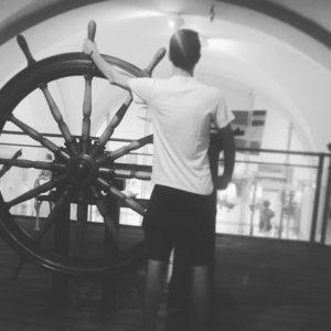 Le musée de l'histoire de la guerre a Vienne réservais des surprises #seprendrepour #un #capitaine ~le temps...