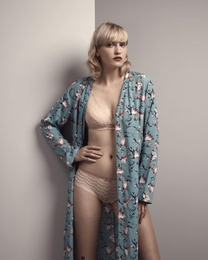 Trend alert: dressing gowns like this fashionable piece with floral prints from series #FancyDreamer perfectly fits mild...