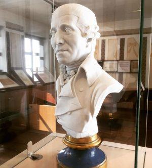Paying a visit to Papa Haydn.