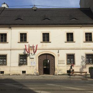 シューベルトの生家にも、行って来ましたー!!! #österreich #wien #schubert #schubertgeburtshaus
