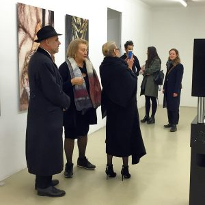#lategram Amazing @olga_sviblova , Head of Multimedia Art Museum of Moscow @mamm_mdf , presents her exhibition