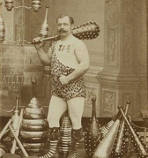 Austrian athlete in the 19th century. La classe!