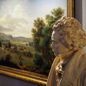 Von Bonn führte der Weg einen der bekanntesten Komponisten seiner Zeit nach Wien ...