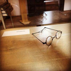 Schubert's glasses 😱😱❤️😍 #schubert#museum#wien#österreich#vienna#deutschelieder#glasses#brille#