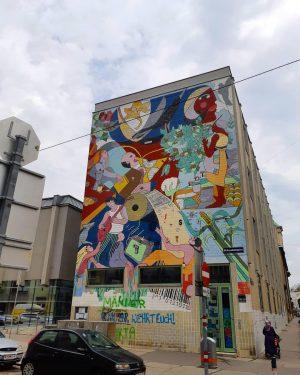 #wien #building #vienna #city Brunnenmarkt
