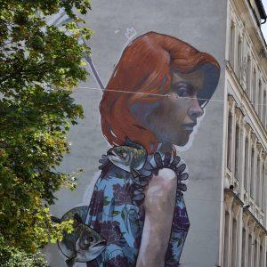 Street art in Wien #pic #photography #photo #nikon #nikond3300 #nikonartists #nikonitalia #light #wien #market #brunnergasse1 #streetart #streetstyle...