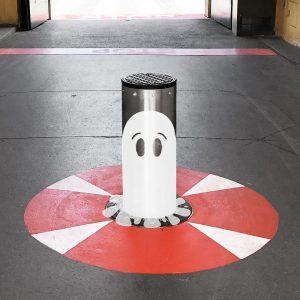 Poller verschönern? Warum eigentlich nicht? Was meint ihr? Sind die Stempen Street-Art-tauglich? Schreibt uns einfach! 🎨😃❤️ #wienwirdwow...