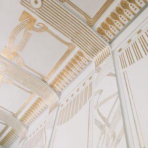 """Thanks to Otto! Unser aktuelles """"Bild der Woche"""" kommt von @tiniwinirini und zeigt uns ein Detail der Decke der Otto Wagner Villa (dem jetzigen Ernst Fuchs Museum) in der Hüttelbergstraße in Wien!  Unser Gastkurator @pruegl findet"""