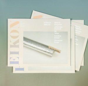 brand new September issue of #eikonmagazine designed by @saysaysayinc // with #AlexanderKluge #NilYalter #JohannesDeutsch #CarolineHeider @aliceqhargrave and...