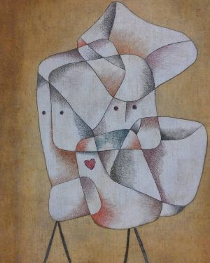 Paul Klee, Geschwister, 1930 Leopold Museum Vienna #leopoldmuseum #wien #vienna #geschwister #gemelli #wow