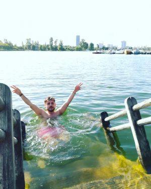 Sigue nadando! #españolesporelmundo #vienna #wien #viena #austria #danubio #danube #trip #europe #lake #river #viajerosporelmundo