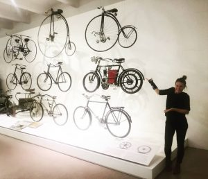 Exploring the history of #bikes ❤️🤘 #museum #atnight #explore #bicycle #history #happyme #excited Pic by @viehbader