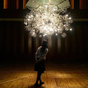 #Repost @acros_fukuoka ・・・ 音と光のラグジュアリーな空間 #アクロス福岡 #福岡シンフォニーホール #acrosfukuoka #天神 #fukuokasymphonyhall #lobmeyr #fukuoka #후쿠오카 #아크로스