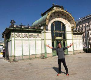 Hello Vienna ☀️🇦🇹#wien #architecturelovers #sunny #austria #artnouveau #vienna