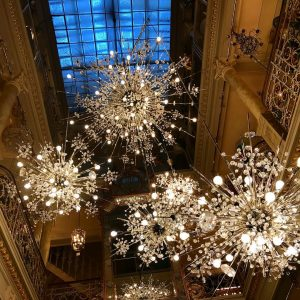 Visited #lobmeyr shop. J. & L. Lobmeyr provided a crystal chandelier for Schönbrunn Palace and other clients....