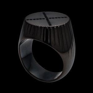 Dots Ring #x #club #custom #vienna #partyhard #underground #blackrhodium #sterling #vip #black #signet #holygrail #highjewellery #madeinvienna #dots...