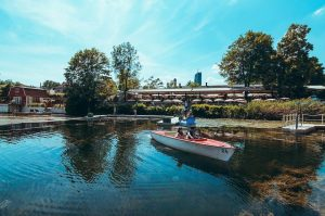 Von 21. bis 23. September feiert die Kaisermühle an der Alten Donau ihr ...