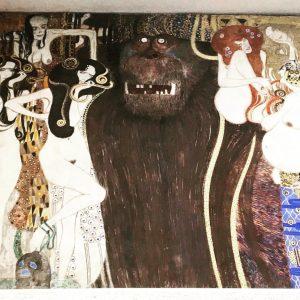 Gustav Klimt Beethoven Frieze