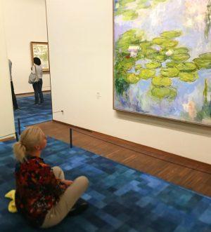 Импрессионизм Oscar-Claude Monet... «Кувшинки» .