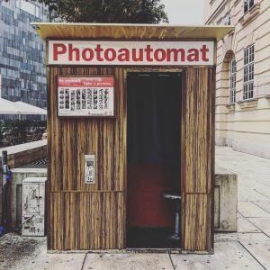 Photoautomat camera 📷 #MQWien MQ Daily