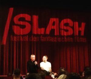 Start ins #slashfilmfestival mit #udokier und #puppetmaster #thelittlestreich @gatinelo METRO Kinokulturhaus