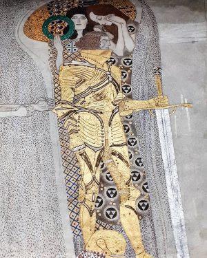 Austria Vienna Secession Beethovenfries Gustav Klimt 1902 ⭐Der goldene Ritter⭐ #austria #österreich #австрия ...