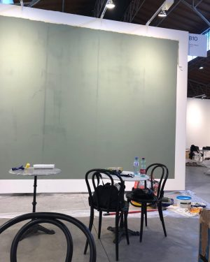 Booth building Chaos#charim galerie#
