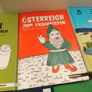 Wir sind 1 bisschen verliebt in unser neues Malbuch. #1000liebe #austria #malbuch #lustig ...