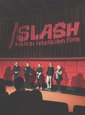 favorite filmfestival 💕 @slashfilmfest #thedark #karlmarkovics #threefilmsinarow #slashsaturday #slashfilmfestival #slashfilmfestival2018 #filmcasino Filmcasino