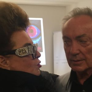 anazing night with Udo Kier, Susanne Widl and friends in Vienna. fifty years anniversery of