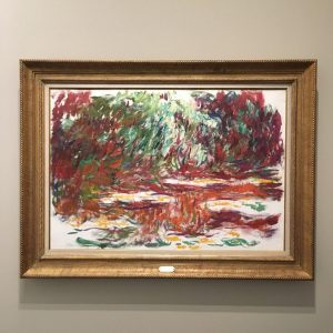Claude Monet retrospective opened to great aplomb at Albertina Museum with over 100 paintings from 40 lenders. Didn't realise how abstract he could be #claudemonet #monet #albertinamuseum #albertina #abstractart #vienna #impressionism #waterlillies #museemarmottanmonet