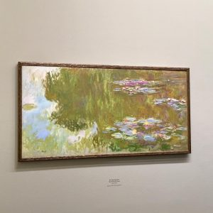 Claude Monet exhibition at @albertinamuseum in Vienna #wonderful #beautiful #breathtaking  #inspiring #paintings #art #impressionist #claudemonet #artphotography
