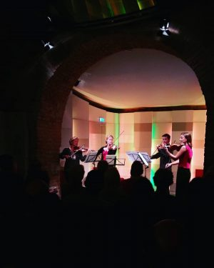 Tonight we started with our first concert of this season with beautiful music by Telemann, Mozart, Haydn...
