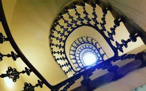 K.K. Priv. Länderbank Hohenstaufengasse @open_house_wien #openhauswien #ottowagner #wien #vienna #vienne #stiegenhaus #staircase #escalier