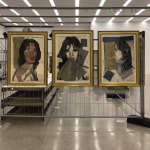 Mick Jagger by Andy Warhol (x3) in the Mumok, Vienna 🎨