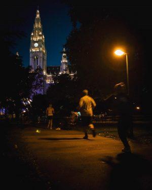 Alle Jahre wieder: 5km um den Ring, weil eine Prachtstraße dann am schönsten ist, wenn sie den...