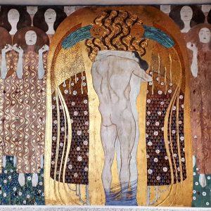 Austria Vienna Secession Beethovenfries Gustav Klimt 1902 ⭐
