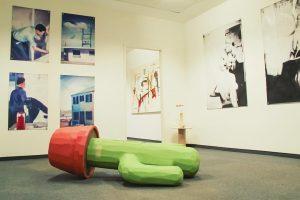Parallel Vienna 🎨 #parallelvienna2018 room 1.52 Daniel Hosenberg @hosenberg_d #danielhosenberg #art #artfair #kaktus #painting #exhibition #contemporaryart #kunstinwien...