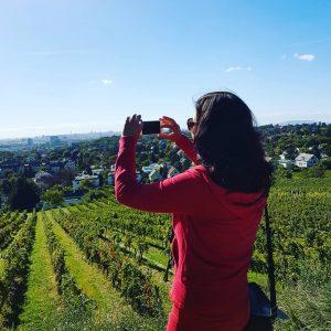 Traumhaft schönes Wien! #wienliebe #Weinwandertag Nußberg, Austria