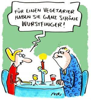 Cartoon von Ari Plikat aus unserer aktuellen Ausstellung VEGANE CARTOONS. #cartoon #MQ #Museumsquartier #Vienna #Wien #art #kunst...