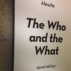 #TheWhoAndTheWhat #AyadAkhtars #geächtet #contemporary #theatre #lookingforward Akademietheater