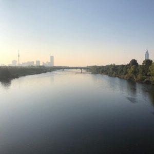 Guten Morgen Wien! #wienliebe #donau Vienna